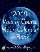 2019 Void of Course Moon Calendar e-Book