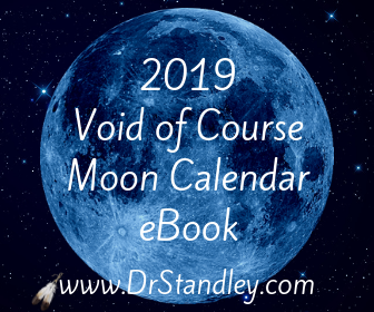 2019 Void of Course Moon Calendar on DrStandley.com