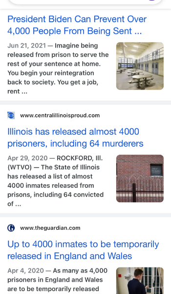 4,000 Prisoners - What a coincidence!