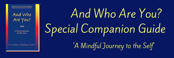 And Who Are You? - Special Companion Guide - A Mindful Journey to the Self