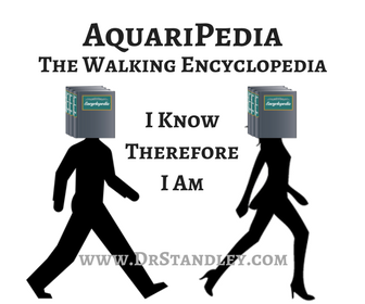AquariPedia - Aquarius is the walking encyclopedia of the zodiac