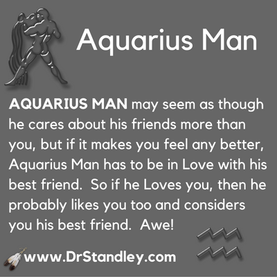 Signs An Aquarius Man Likes You