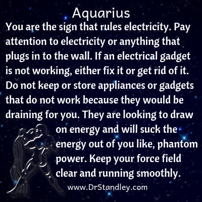All about Aquarius on DrStandley.com