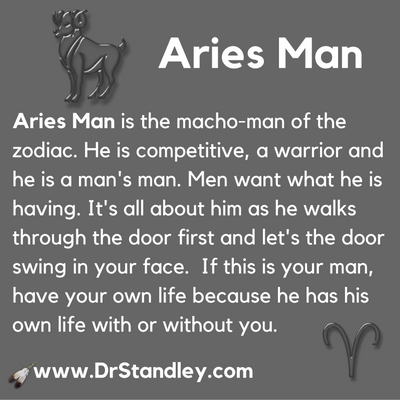 Aries Man on DrStandley.com
