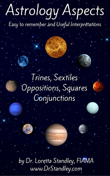 Astrology Aspects eBook by Dr. Loretta Standley on DrStandley.com
