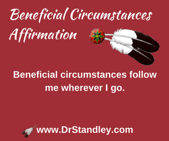 Beneficial circumstances affirmation on DrStandley.com