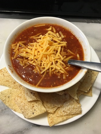Bowl of Just Right Chili
