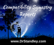 The Compatibility / Synastry Report indicates the attractions and repulsions in any relationship. In other words, what attracts you to each other and what repels you from one other