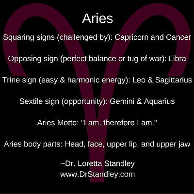 Aries Daily Horoscope June 6 on DrStandley.com