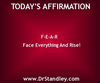 FEAR - Face Everything And Rise!