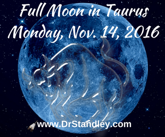 Full Moon in Taurus on DrStandley.com