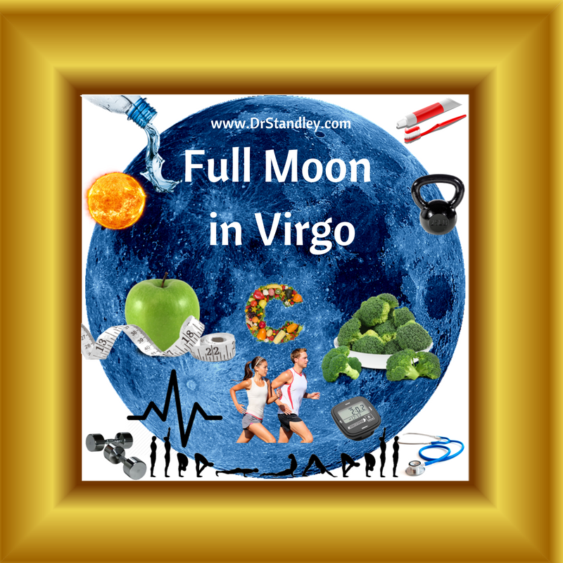 Full Moon in Virgo on Thursday, March 1, 2018