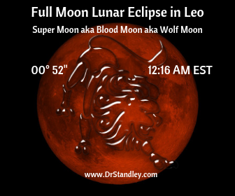 Full Moon Lunar Eclipse Supermoon in Leo on DrStandley.com