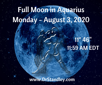 Full Moon in Aquarius 2020 on DrStandley.com