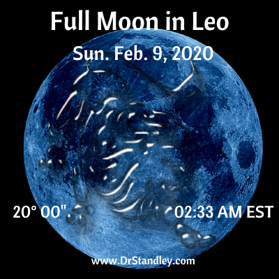 The Full Moon in Leo 2020 on DrStandley.com