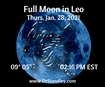 Full Moon in Leo on DrStandley.com