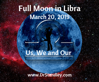 Full Moon in Libra - Vernal Equinox as the Sun moves into Aries
