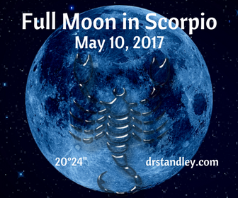The Full Moon in Scorpio on DrStandley.com