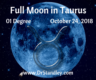 Full Moon in Taurus 2018 on DrStandley.com
