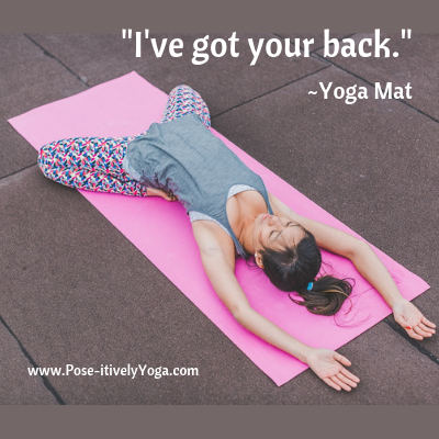 Yoga mat - I've got your back on DrStandley.com