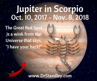Jupiter Retrograde in Scorpio on DrStandley.com