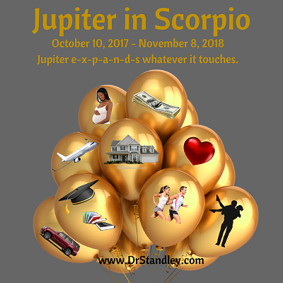 Jupiter in Scorpio on DrStandley.com