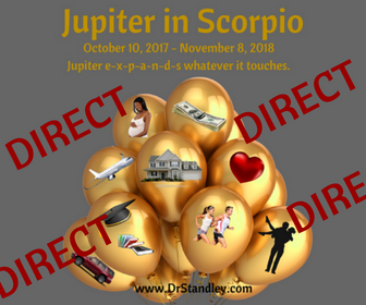 Jupiter Direct in Scorpio on DrStandley.com