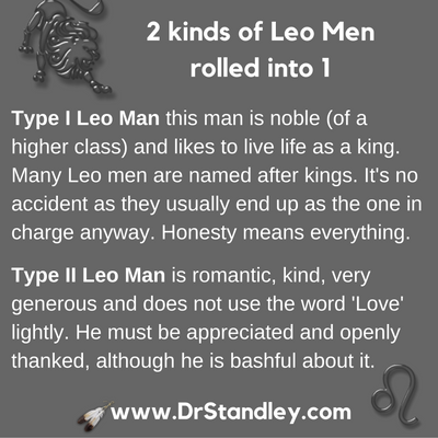 Leo Man on DrStandley.com