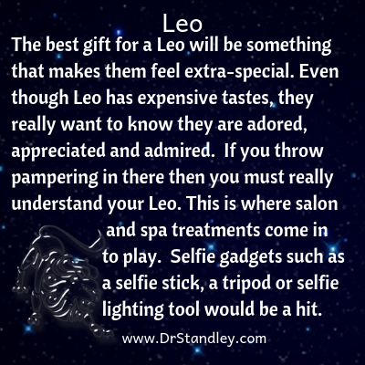 All about Leo on DrStandley.com