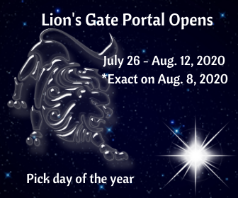 Lion's Gate Portal on DrStandley.com