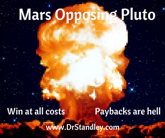 Mars Opposing Pluto on DrStandley.com