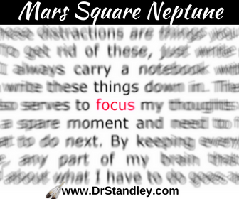 Mars Square Neptune on DrStandley.com