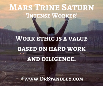 Mars Trine Saturn on DrStandley.com