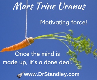 Mars trine Uranus on DrStandley.com