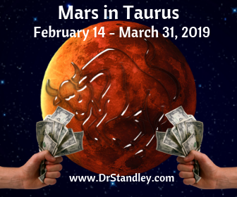 Mars in Taurus on DrStandley.com
