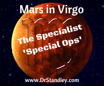 Mars in Virgo is the specialist - special ops and special forces