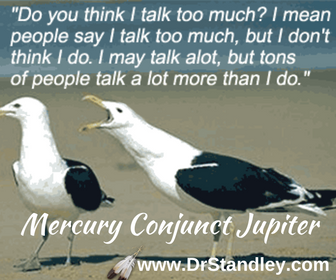 Mercury Conjunct Jupiter on DrStandley.com