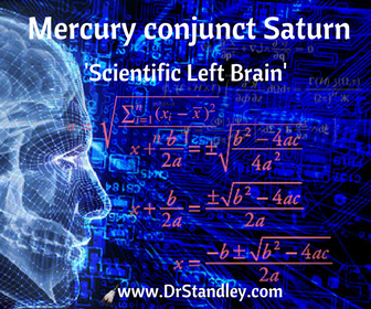 Mercury conjunct Saturn on DrStandley.com