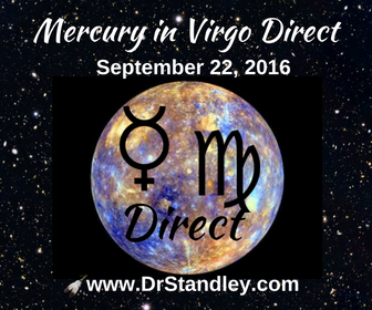 Mercury in Virgo Direct on DrStandley.com