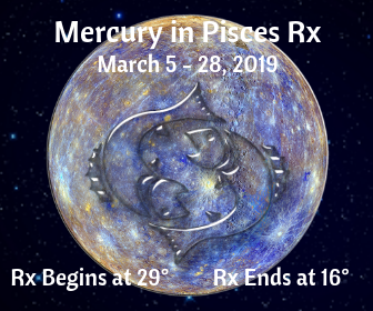 Mercury in Pisces Retrograde from March 5 - 28, 2019 on DrStandley.com