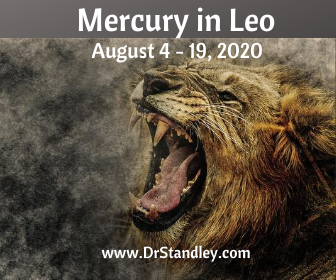 Mercury in Leo 2020 on DrStandley.com