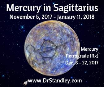 Mercury in Sagittarius - November 5, 2017 until January 11, 2018 on DrStandley.com