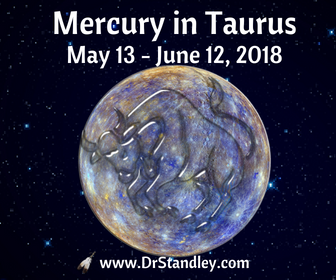 Mercury in Taurus on DrStandley.com