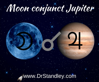 Moon conjunct Jupiter on DrStandley.com