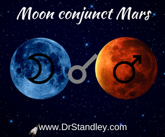 Moon conjunct Mars on DrStandley.com