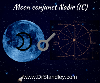Moon conjunct Nadir on DrStandley.com