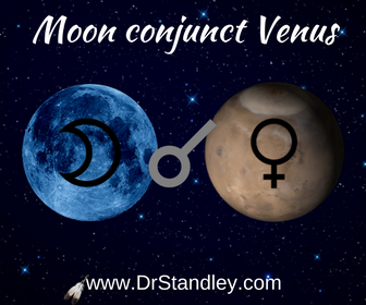 Moon conjunct Venus on DrStandley.com