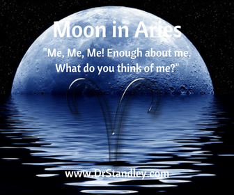 The Moon is in Aries on DrStandley.com