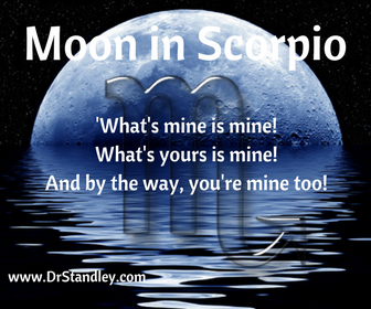 The Moon in Scorpio on DrStandley.com