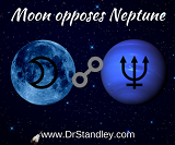 Moon Opposing Neptune on March 20, 2019 on DrStandley.com
